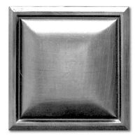 Square Beveled Pewter