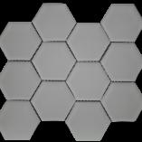 Simpson Desert Glass - Hexagon Alabastro Matte (3x3) 9406