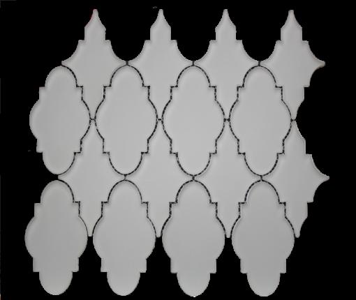 Simpson Desert Glass   Trellis Urban Mist Matte (13x11) 9431