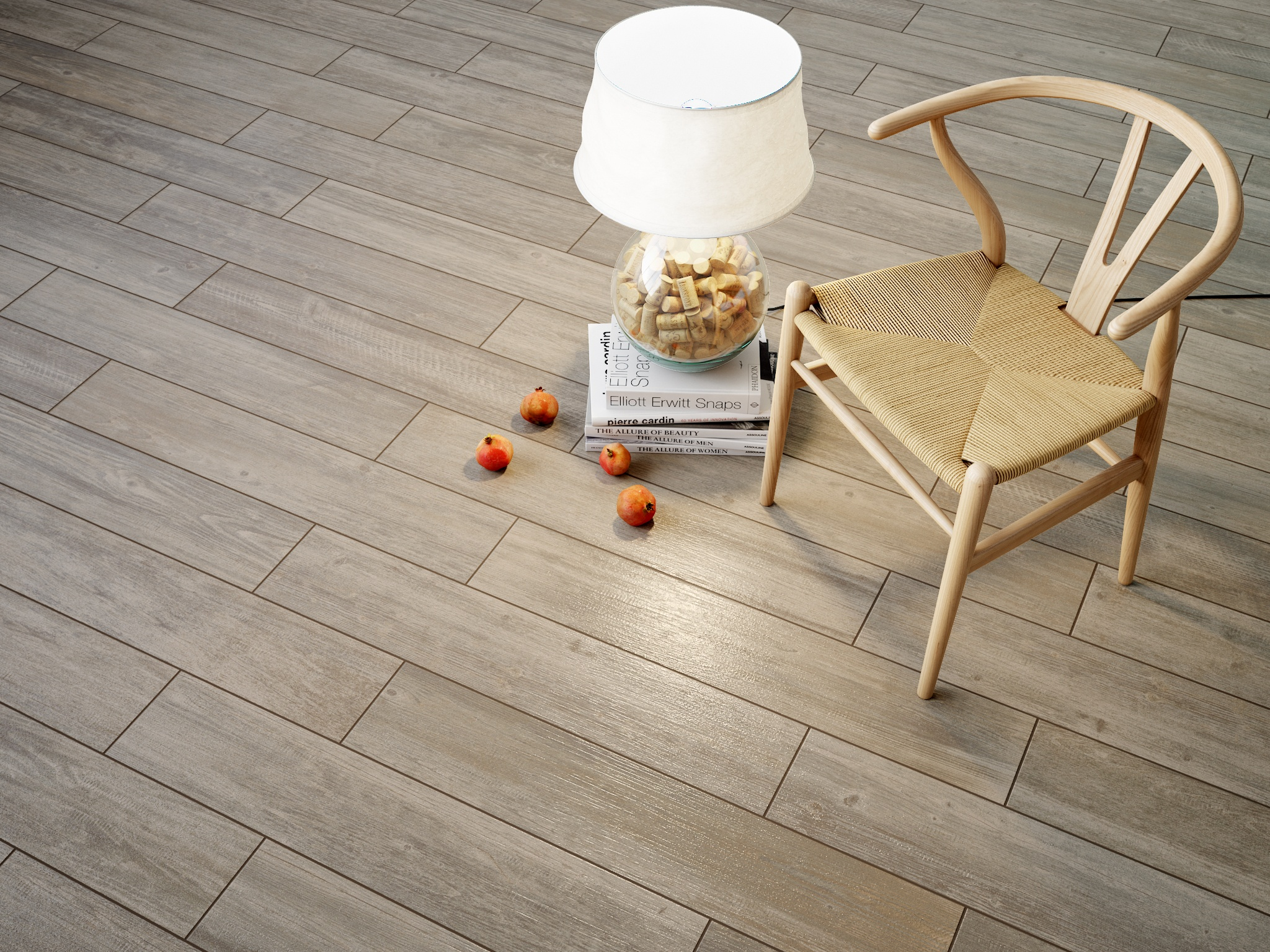 Ceramic tiles wood look