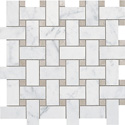 Atlas Concorde USA carrara_twist_mosaic