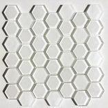 Raffi Glass - Hexagons - HEX-22Cream