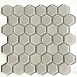 Raffi Glass - Hexagons - HEX-23Latte