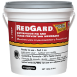 Custom Building Products - RedGard (waterproof membrane & crack isolation)