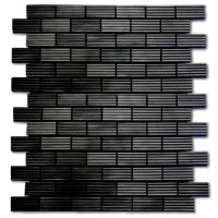 Ridged Aluminum Brick | Wrought Iron