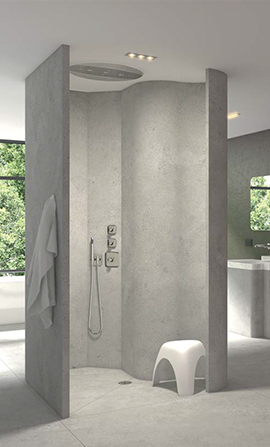 wedi corp | Fundo Ligno | Curbless Shower Systems