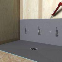 wedi Fundo Ligno Installation