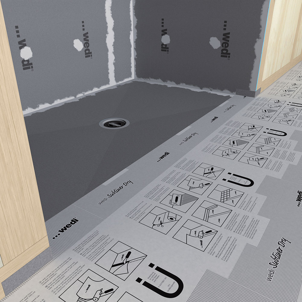 Wedi fundo ligno curbless shower genesee ceramic tile wedi fundo ligno curbless shower dailygadgetfo Gallery