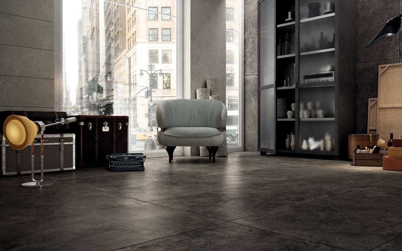 Hard Leather Diesel Living Iris Ceramica Genesee