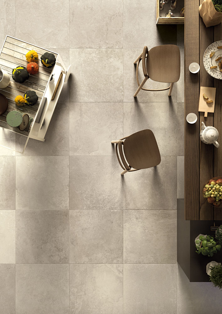 The Rock Lea USA Genesee Ceramic Tile - Ceramic tile that looks like rocks