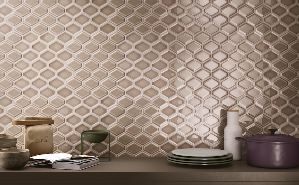 Nova Hex Bellavita Genesee Ceramic Tile