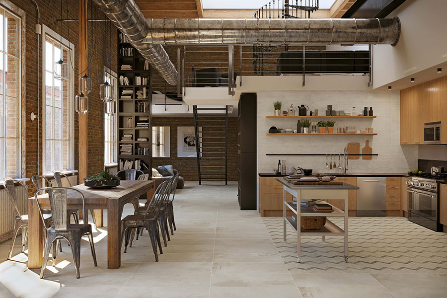 Contemporary Tile Flooring Ideas