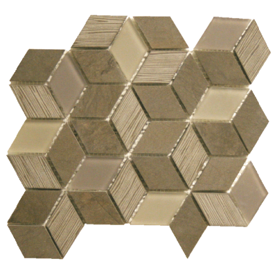 Cube Fousanna Grey Nickel Platinum Blend OLBPC06