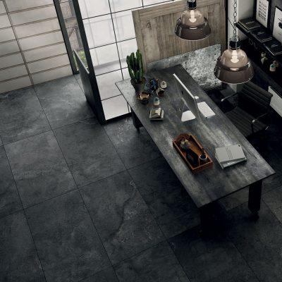 Solid Concrete Black