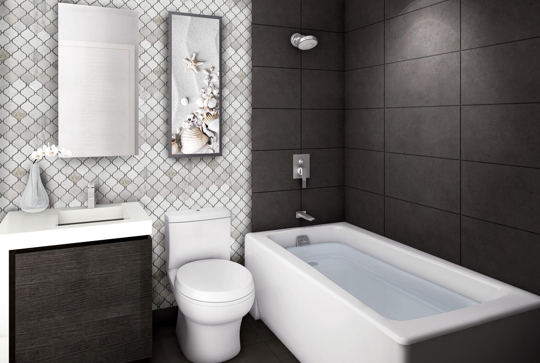 Sienna White Marble Marme Tile