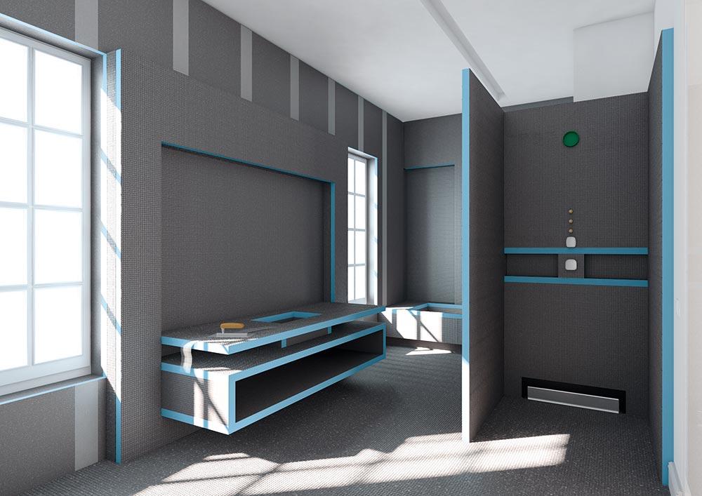 wedi building panels genesee ceramic tile. Black Bedroom Furniture Sets. Home Design Ideas
